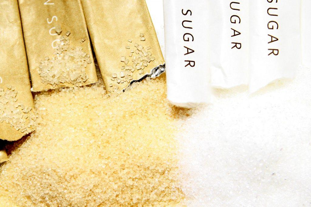 cukier brązowy cukier biały dieta