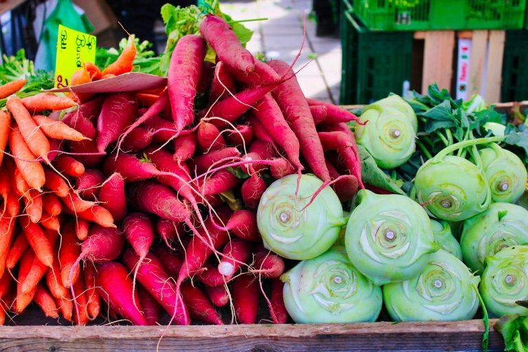 warzywa lato stragan dieta